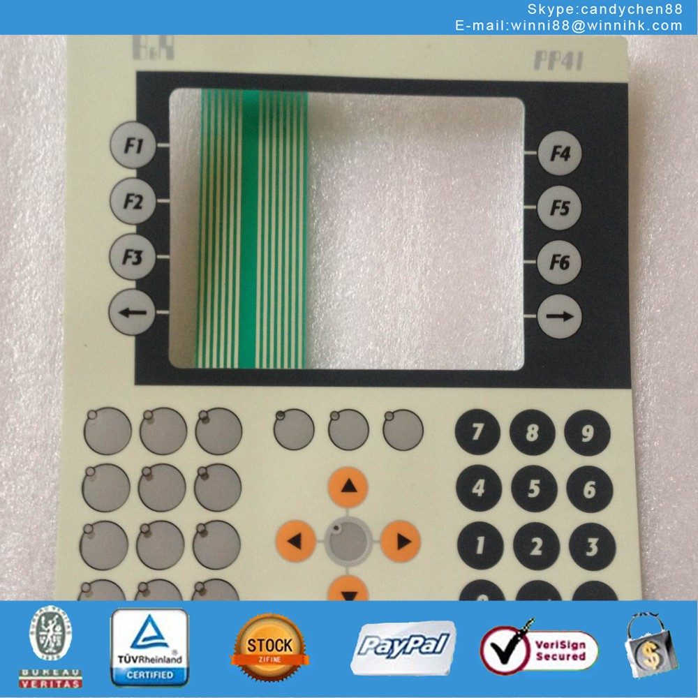 Membrane Keypad for 4P3040.01-490
