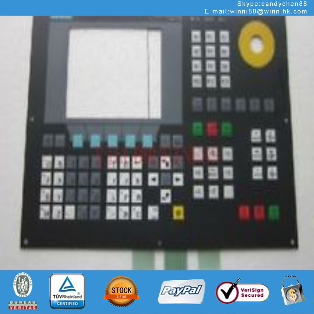 Membrane Keypad for SIEMENS SINUMERIK 802S