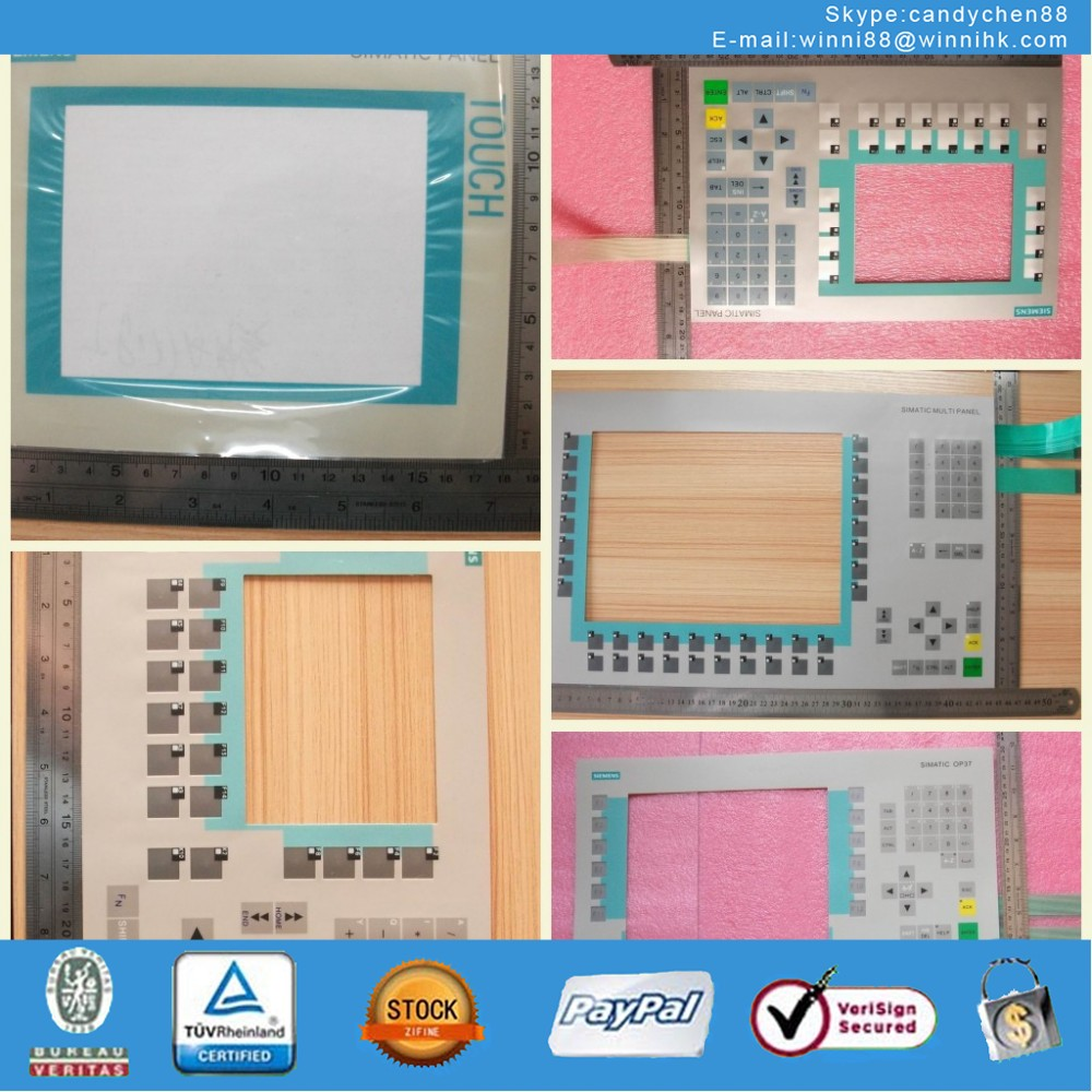 Membrane Keypad for SIEMENS SINUMERIK 802D