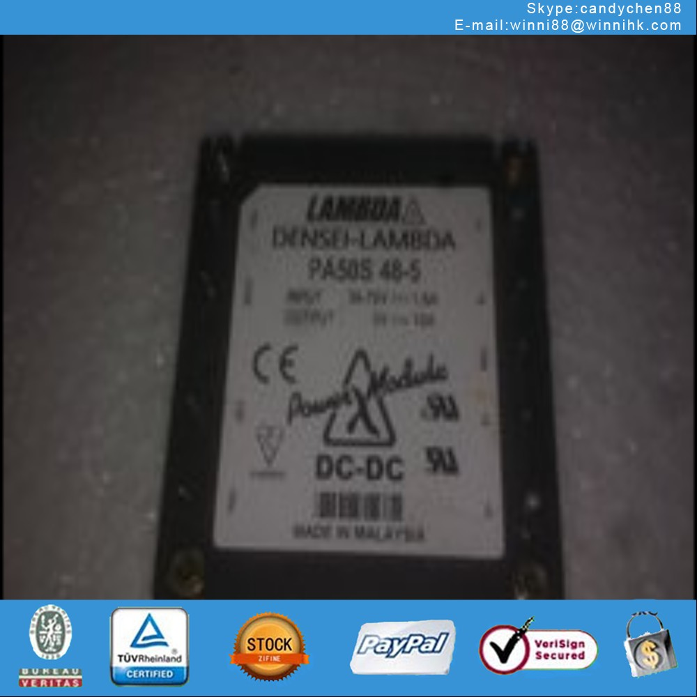 PA50S48-5 Japanese manufacturers LAMBDA Power Module 48V buck turn 5V10A isolated communication modu