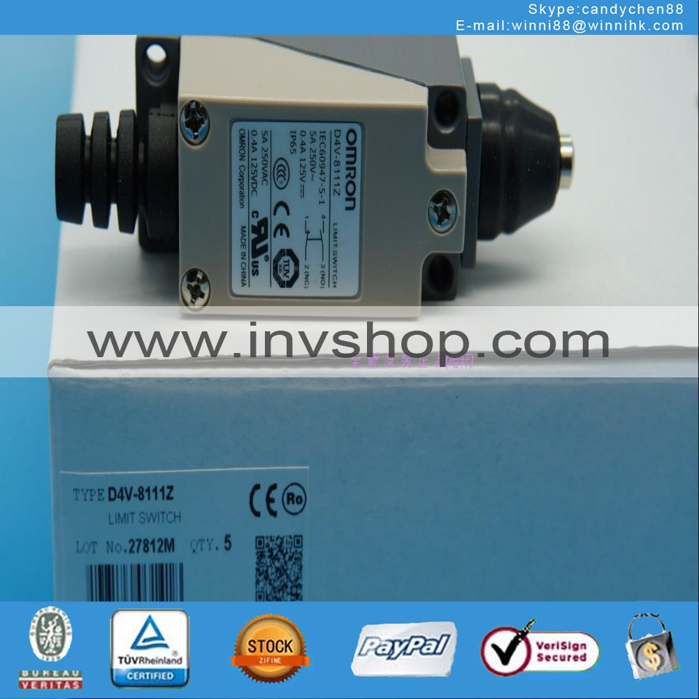 new OMRON D4V-8111Z Limit switch
