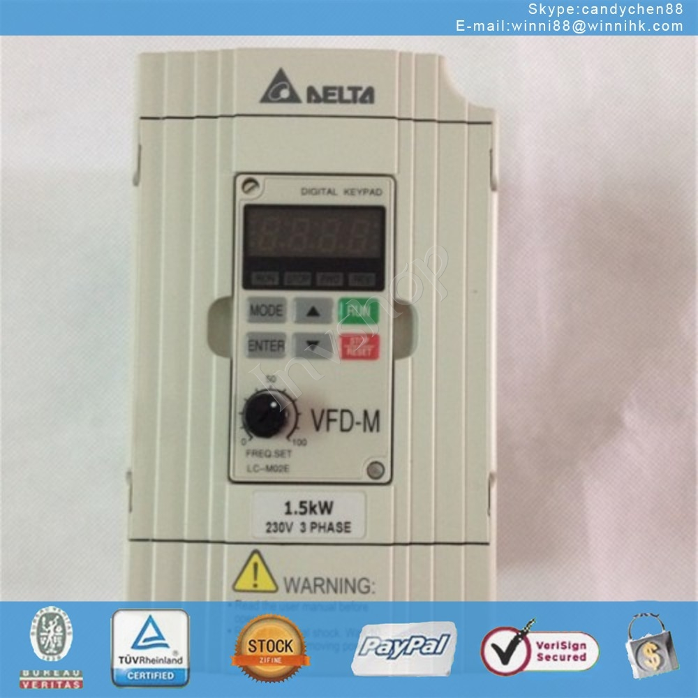 PLC New VFD015M43B-A for DELTA 60 days warranty