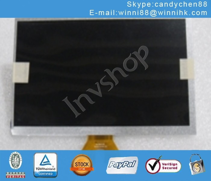 GPS DVD Y0U LED LCD  Panel For 9inch  AUO A090VW01 V.0 NEW