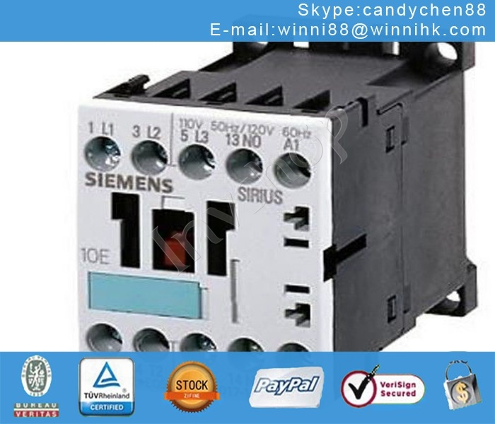 AC-3 4 KW/400 V Siemens 3RT1016-1BB42 NEW CONTACTOR,60 days warranty