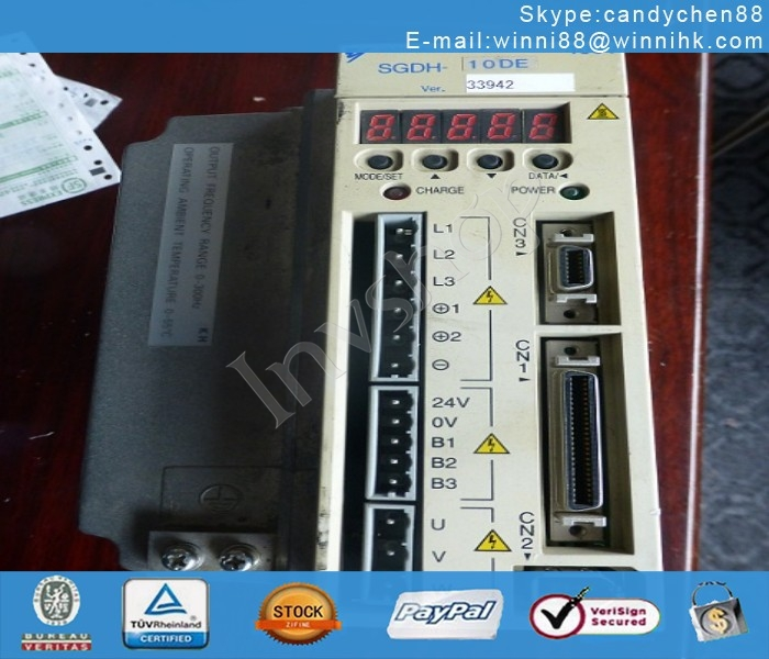 Yaskawa SGDH-10DE servo drives
