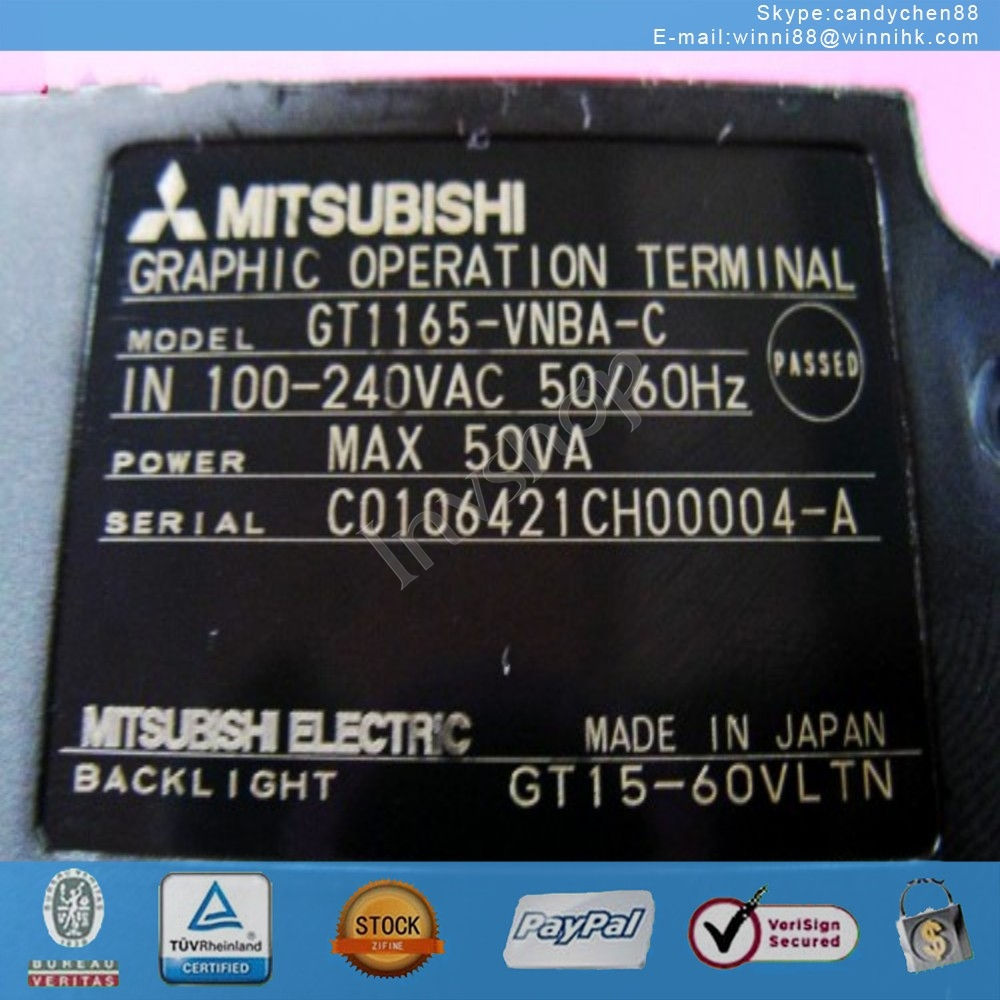 Used GT1165-VNBA-C for Mitsubishi 60 days warranty