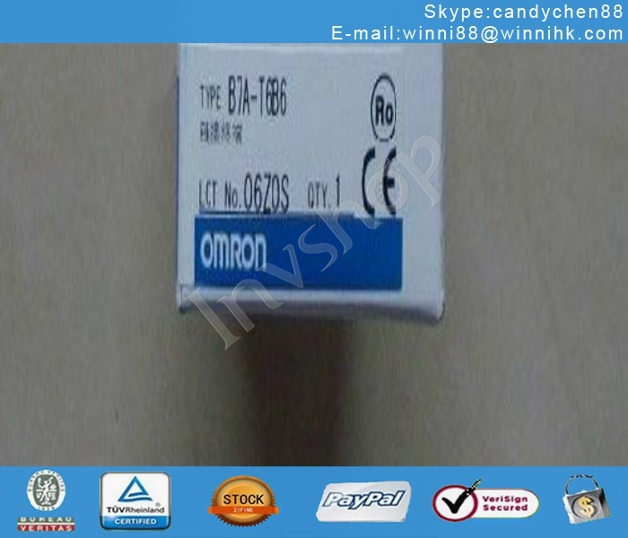 BOX Omron PLC B7A-T6B6 NEW IN