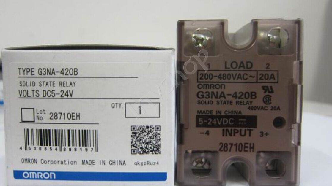 new OMRON G3NA-420B(24VDC) Solid state relay