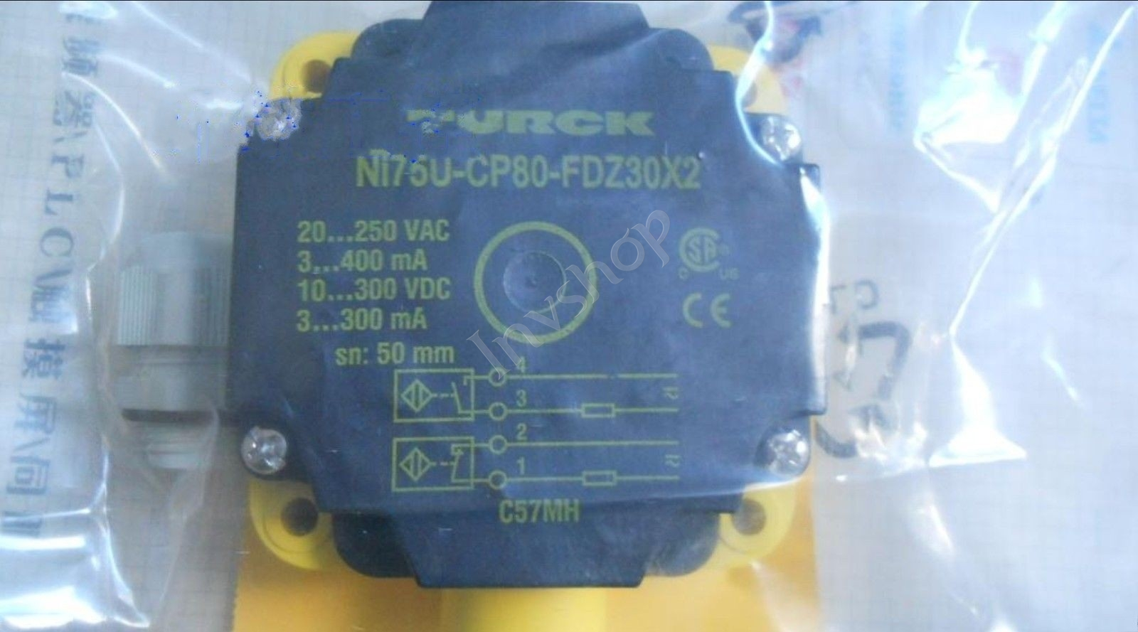 Switch NEW NI75U-CP80-FZ30X2 TURCK Proximity