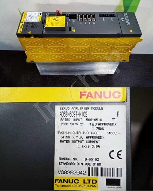 FANUC A06B-6097-H102 USED Servo Amplifier