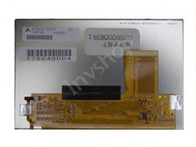 T-55382GD050JU-LW-A-ABN 5'' 800*480 LCD DISPLAY for OPTREX