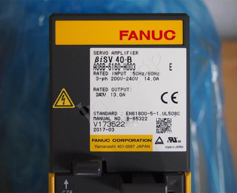 A06B-6160-H003 Fanuc Servo Amplifier New and Original
