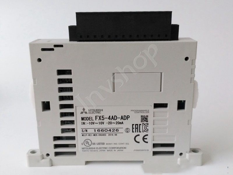 Mitsubishi PLC Module For New and Original FX5-4AD-TC-ADP
