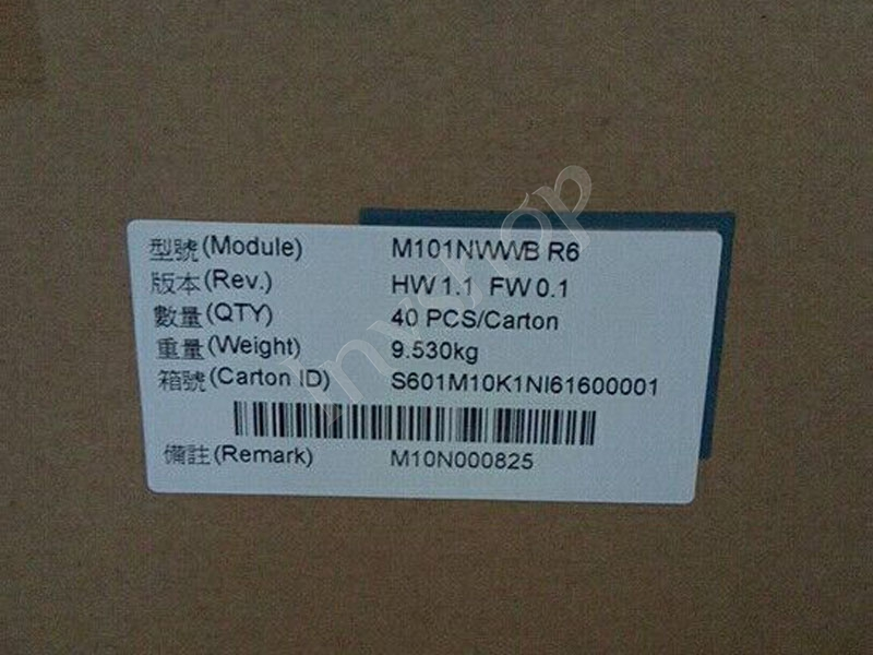 M101NWWB R6 LCD PANEL NEW AND ORIGINAL