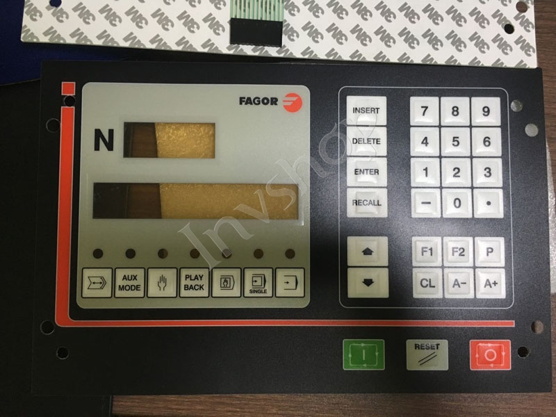 FAGOR haircut CNC system controller CNC101S key film