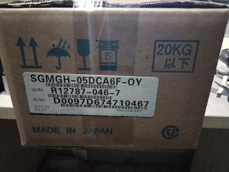 SGMGH-05DCA6F-OY YASKAWA server New and Original